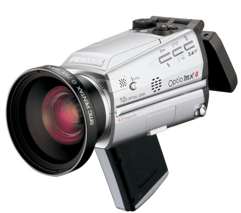 Pentax Optio MX4 Manual User Guide and Detail Specification