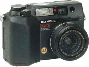 Olympus C-4040 Zoom Manual for Olympus's Bright Lens Camera