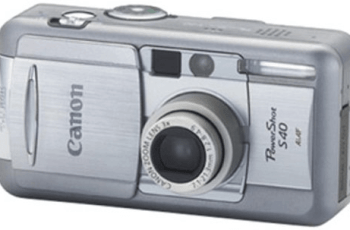 Canon PowerShot S40 Manual User Guide and Specification