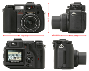 Olympus C-5050 Zoom Manual User Guide and Detail Specification.
