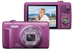 Olympus VR-350 Manual for Olympus's Friendly Colorful Compact