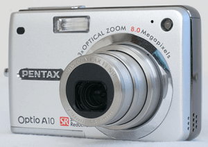 Pentax Optio A10 Manual, a Manual of Pentax's Solid Compact