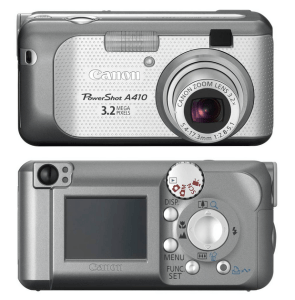 Canon PowerShot A410 Manual for Canon Compact Camera with Style
