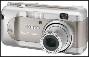 Canon PowerShot A420 Manual for Canon's Exquisite 4MP Compact Camera