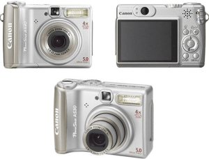 Canon PowerShot A530 Manual for Your Canon Light Travel Camera