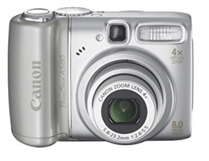 Canon PowerShot A580 Manual for Canon's Inexpensive Camera with Rich Features