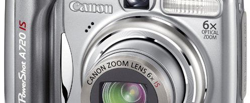 Canon PowerShot A720 IS manual: camera