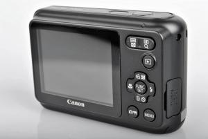 Canon PowerShot A800 Manual: Camera backside