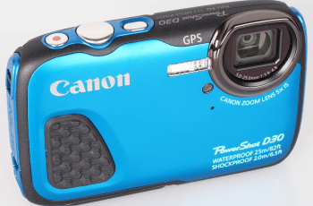 Canon PowerShot D30 Manual for Canon's Ruggedly Bright Camera