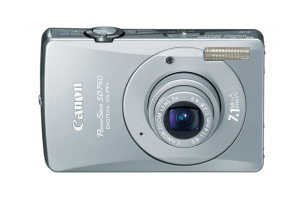 Canon PowerShot SD750 Manual, a Manual of Canon Silverish Compact