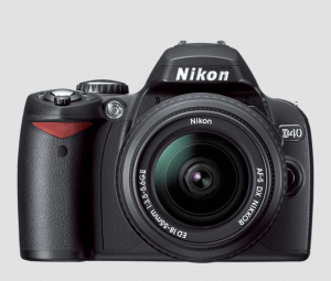 Nikon D40 Manual (camera body)