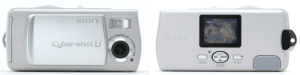 Sony DSC-U10 Manual (Camera Back and Front Side)