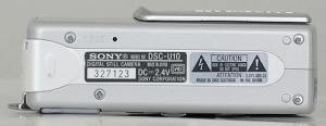 Sony DSC-U10 Manual (Camera Side)