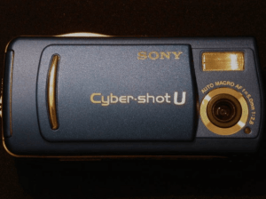 Sony DSC-U20 Manual, a Manual for Sony's Tiny Cyber-Shoot Camera.