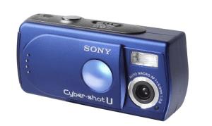 Sony DSC-U30 Manual (blue colored variant)