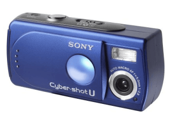 Sony DSC-U30 Manual (blue colored variant)