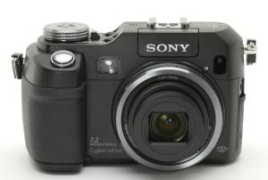 Sony DSC-V3 Manual (Camera front side)