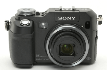 Sony DSC-V3 Manual (Camera front side)