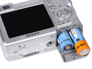 Sony DSC-W1 Manual (camera battery)