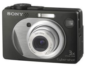 Sony DSC-W1 Manual: Camera front side