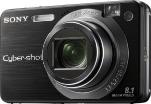 Sony DSC-W150 Manual for Sony's Eye-catching Ultra-compact Camera