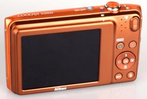 Nikon CoolPix S3500 Manual - camera back side