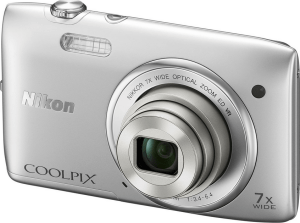 Nikon CoolPix S3500 Manual - camera front side