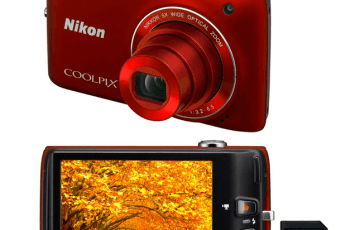 Nikon CoolPix S4100 Manual - camera look (back and front)