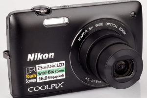 Nikon CoolPix S4200 Manual camera front side(1)