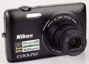 Nikon CoolPix S4200 Manual camera front side(1)