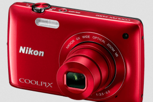 Nikon CoolPix S4300 Manual - camera front side