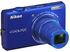 Nikon CoolPix S6200 Manual - camera front side