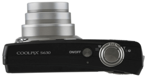 Nikon CoolPix S630 Manual - camera side