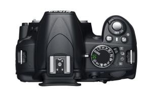 Nikon D3100 Manual - camera upside