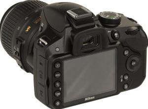Nikon D3200 Manual-camera backside