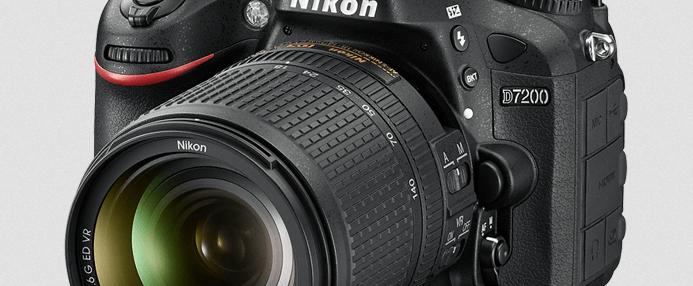 Nikon D7200 Manual (camera body with lens)