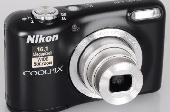 Nikon L29 Manual - camera front side