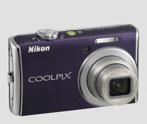 Nikon S620 Manual - camera front page