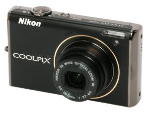 Nikon S640 Manual - camera front side