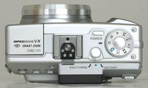 Sony DSC-V1 Manual - camera side