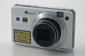 Sony DSC-W170 Manual (camera front side)
