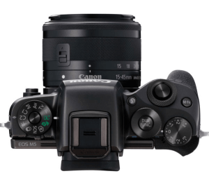 Canon EOS M5 Review - Camera Up Side