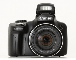 Canon PowerShot SX50 HS Manual - camera front face