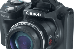 Canon PowerShot SX500 IS Manual for Canon's Compact Super-Zoom Camera
