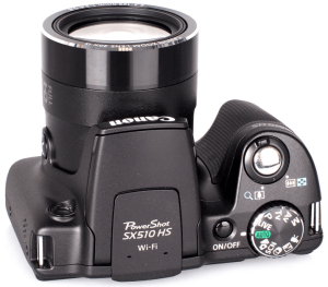 Canon PowerShot SX510 HS Manual - camera side