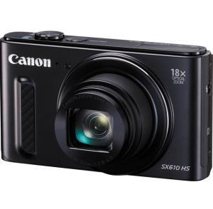 Canon PowerShot SX610 HS Manual - black variant