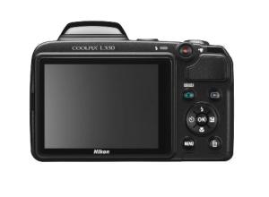 Nikon CoolPix L330 Manual - camera back side