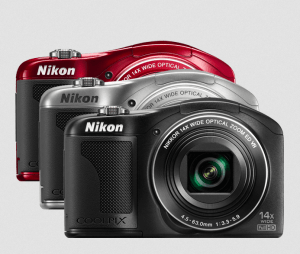 Nikon CoolPix L610 Manual - camera front face