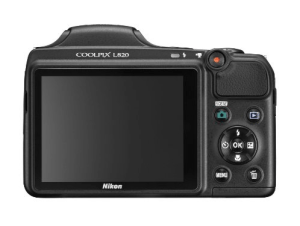 Nikon CoolPix L820 Manual - camera back side