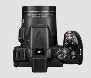 Nikon CoolPix P600 Manual - camera up side